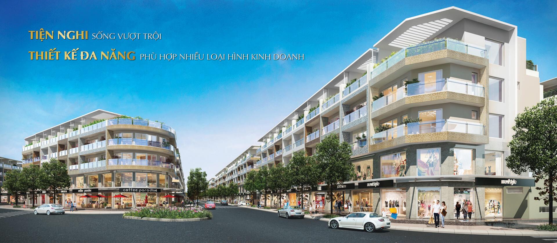 Bán nhiều căn Shophouse nhà phố Sala, diện tích: 5.6x20m, 7x21m, 7x24m. Giá từ 22 - 45 tỷ