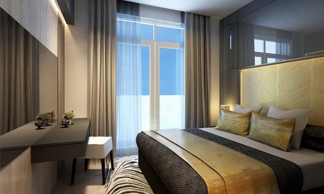 Cho thuê 2pn Sala Thủ Thiêm 87m2 thiết kế đẹp, view nội khu 1300USD