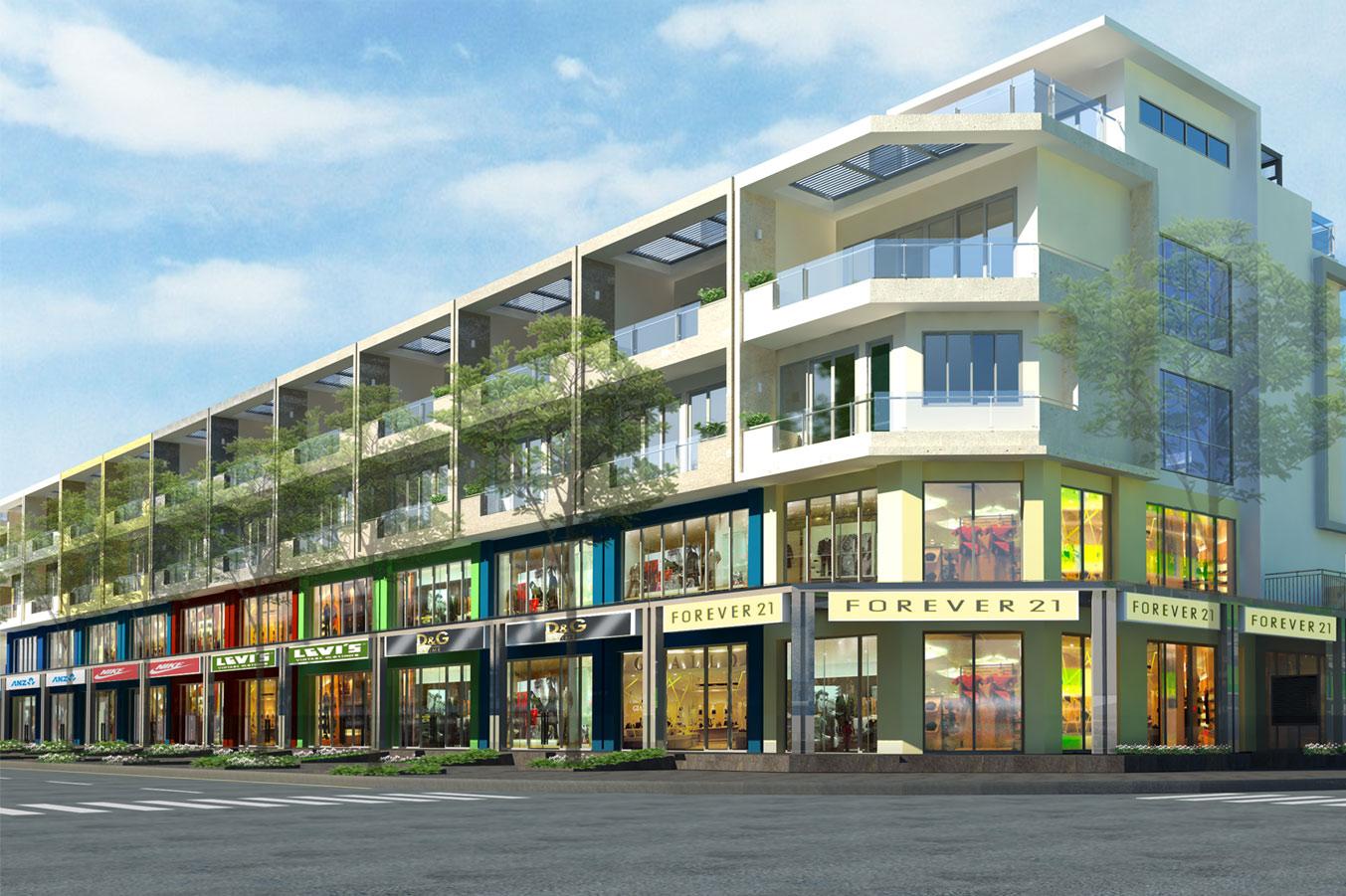 Shophouse căn hộ Sala Sarimi cho thuê 600m2, 1 hầm + 4 lầu, giá 85 triệu/tháng