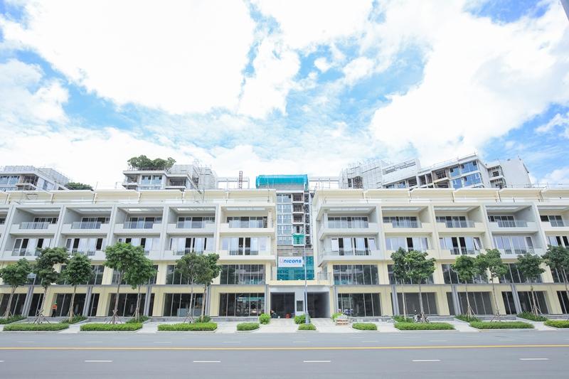 Cho thuê shop Samiri Sala Đại Quang Minh DT 700m2 có 1 hầm 4 lầu, 85 triệu/tháng call 0944909192