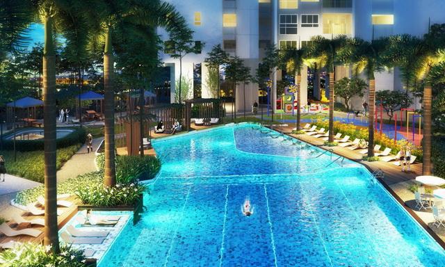 Cho thuê  Căn hộ 2PN nội thất đẹp Sarimi, Sala cho thuê, 92m2, 25 triệu/tháng