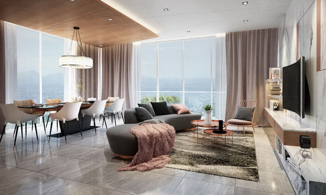 Cho thuê căn hộ 2PN, tháp Sarimi, Sala, 88m2, 24 triệu/tháng, LH: 0944909192