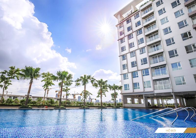 Bán căn hộ Sarimi 2PN lầu cao view Quận 1 và Empire 88 tầng. Giá 5.6 tỷ.