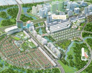 Cho thuê căn hộ cao cấp Sarimi Sala B2 2 Pn diện tích 88m2 giá 25 triệu/th, hướng ĐN view công viên - 0944909192