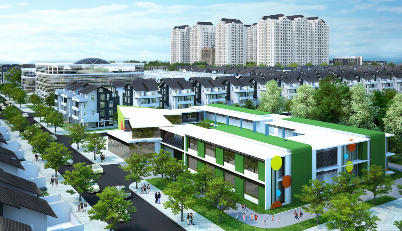 Bán nhà phố thương mại Nguyễn Cơ Thạch Sala Đại Quang Minh Quận 2