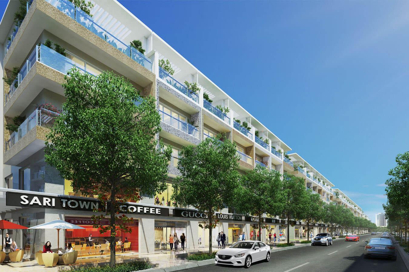 Chính chủ chuyển nhượng căn nhà phố Sari Town Đại Quang Minh, 5.6x20m, hàng hiếm LH - 0944909192