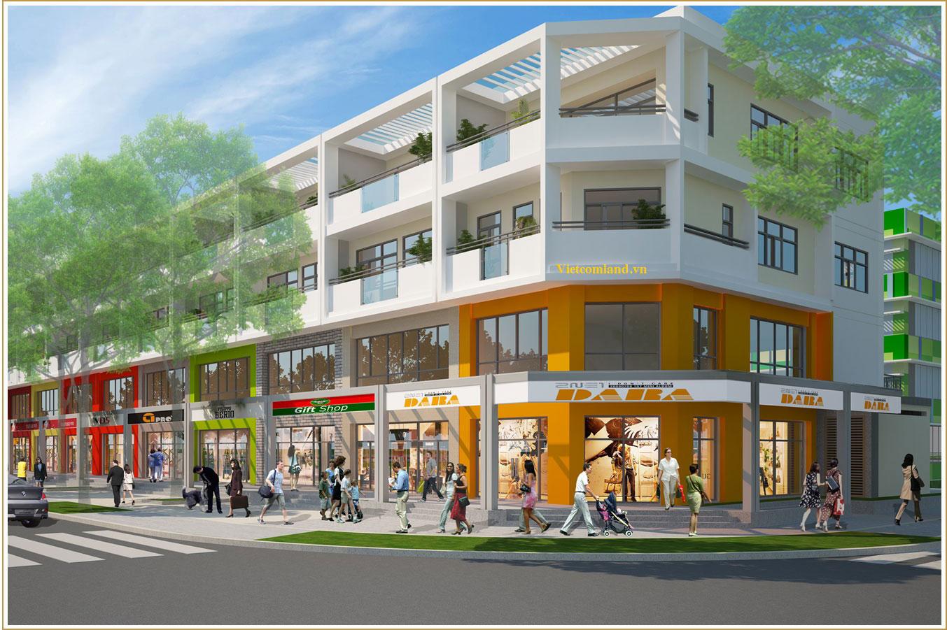Cho thuê shophouse Sala Đại Quang Minh – Quận 2