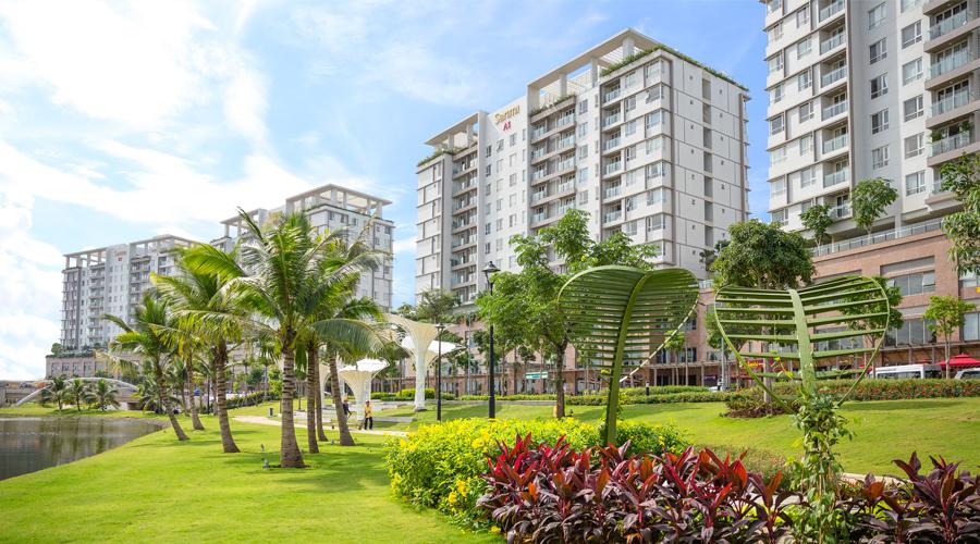 Bán căn hộ Sarimi Sala, tầng cao 3PN. DT: 131m2 view công viên đầy đủ nội thất