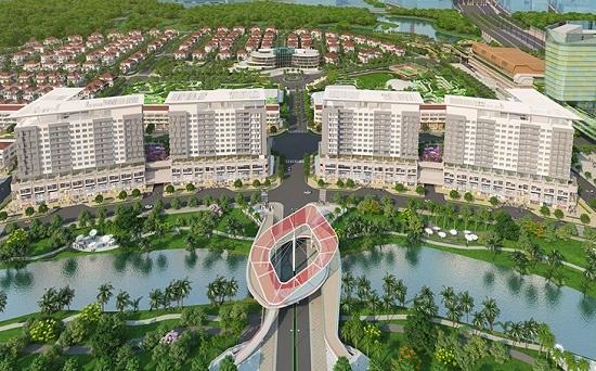 Căn hộ cao cấp khu đô thị Sala Thủ Thiêm giá 6 tỷ