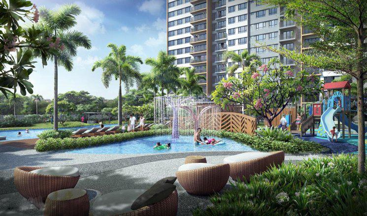 Bán căn hộ  PALM HEIGHTS giá chỉ từ 3.2 tỷ