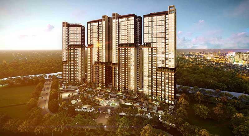 Bán nhiều căn hộ cao cấp Palm Height giá chỉ từ 3.2 tỷ