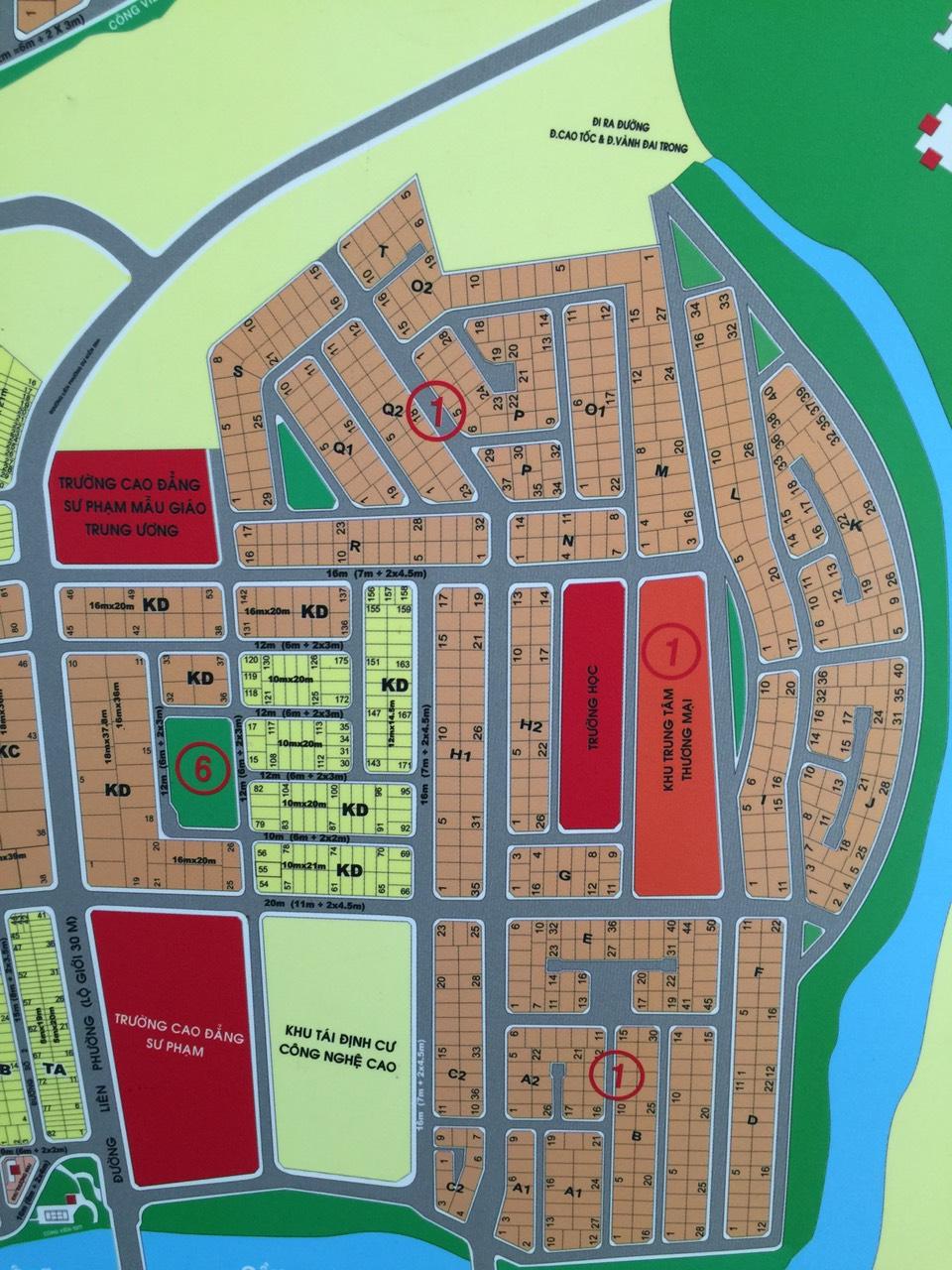 Bán đất dự án Phú Nhuận, phường Phước Long B, Quận 9