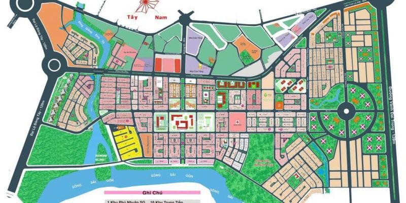 Bán đất Thạnh Mỹ Lợi, Đảo Kim Cương, Quận 2