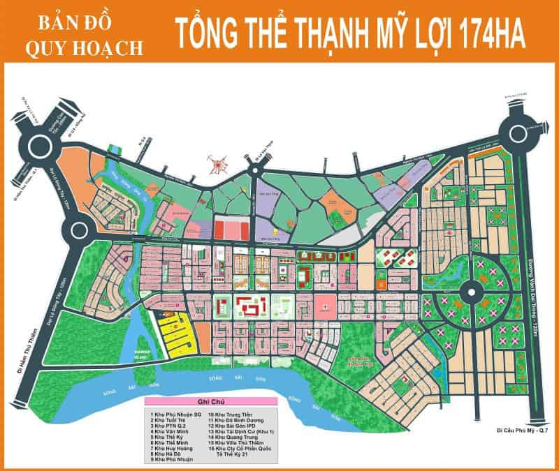 Bán đất Đảo Kim Cương - Thạnh Mỹ Lợi - Quận 2